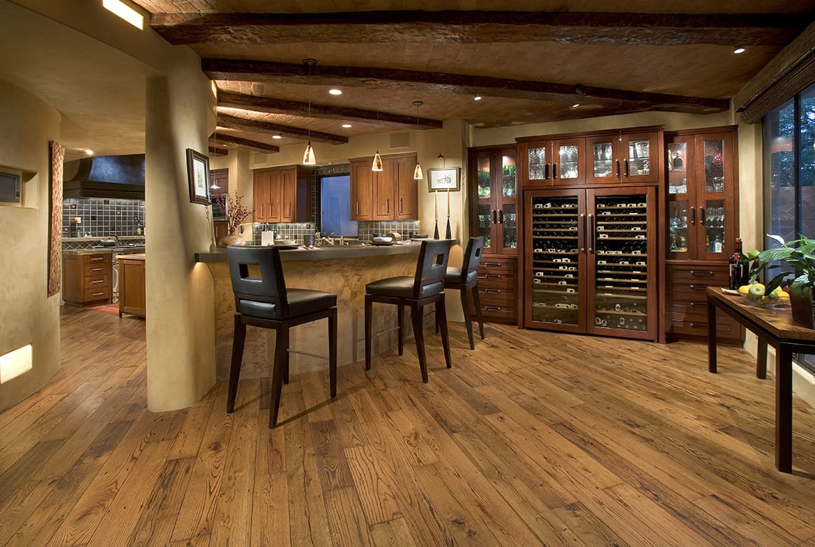 The truth about reclaimed wood natural interiors for Recycled wood floors