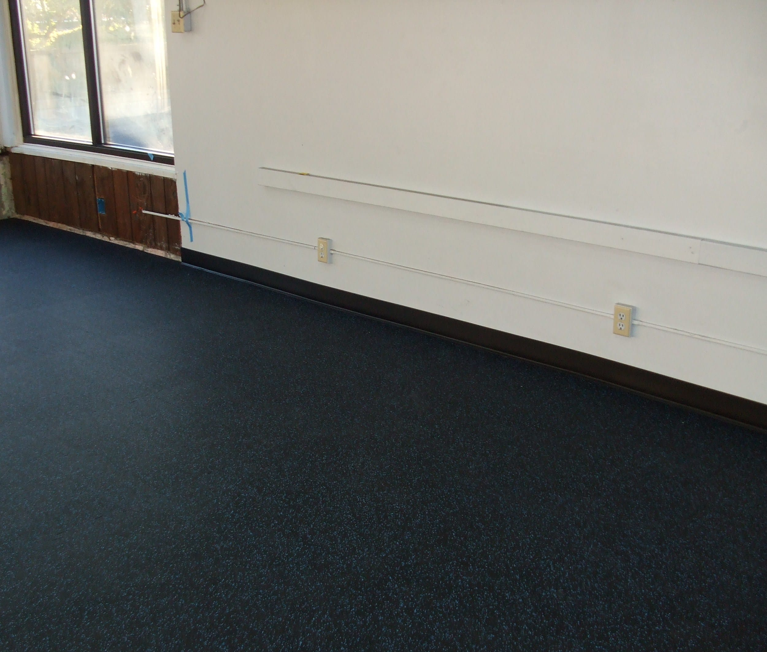 Image courtesy of EcoFloors  Rubber flooring remains. The New Rubber Room   Natural Interiors  Blog